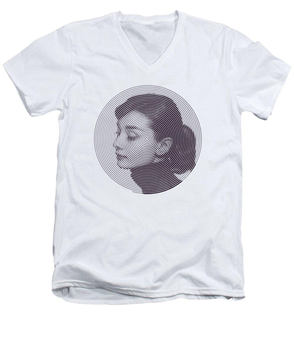 Audrey Hepburn V-Neck T-Shirts