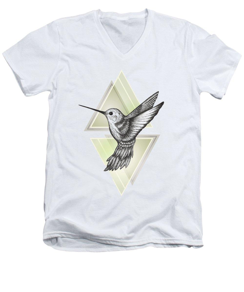 Hummingbird V-Neck T-Shirts
