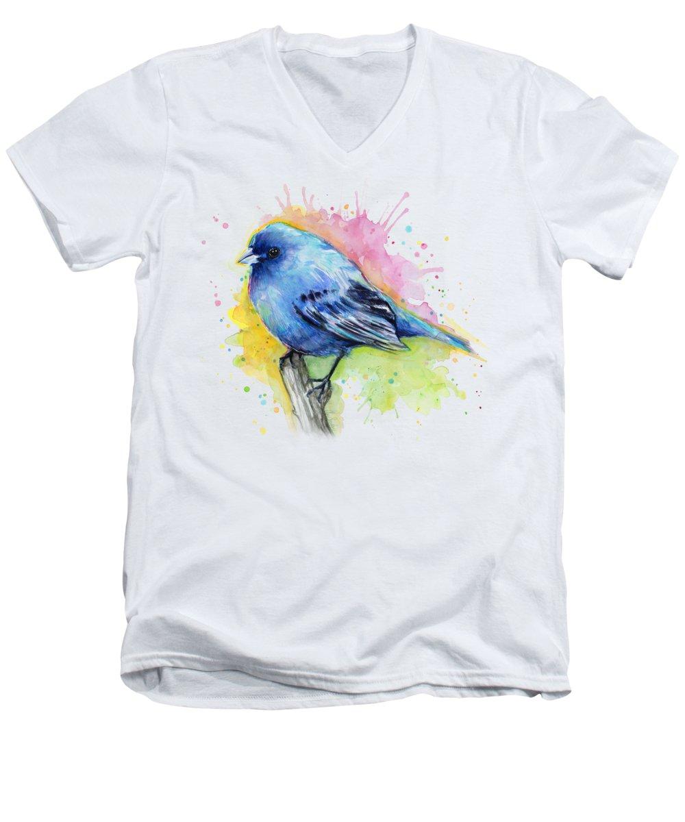 Bunting V-Neck T-Shirts