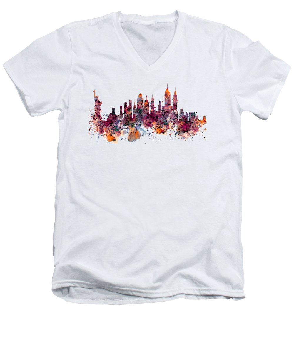 Statue Of Liberty V-Neck T-Shirts