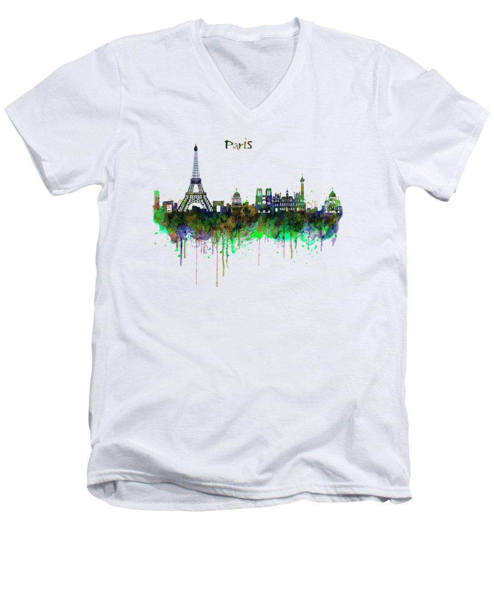 Notre Dame V-Neck T-Shirts