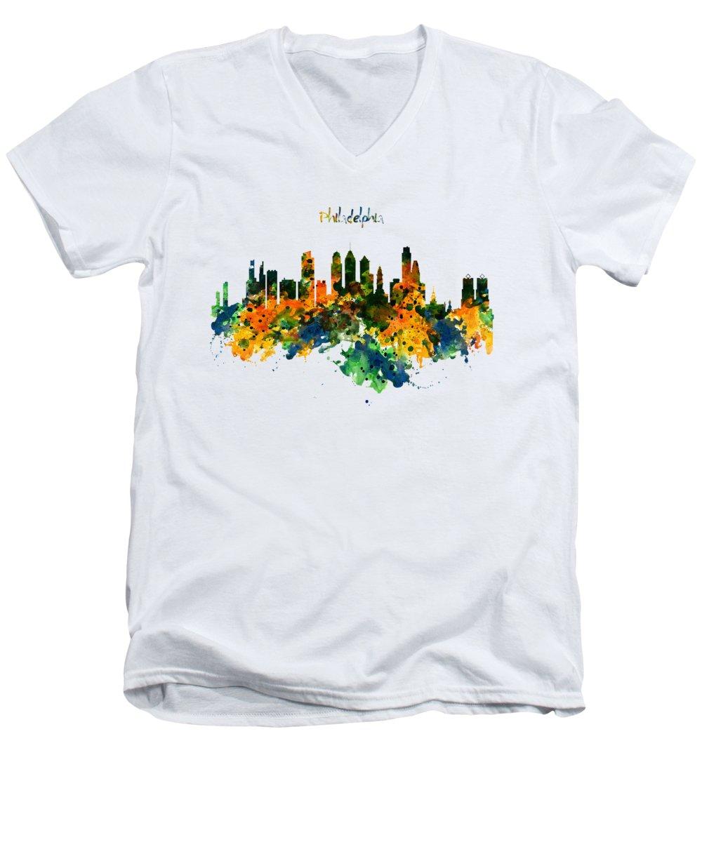 Philadelphia V-Neck T-Shirts