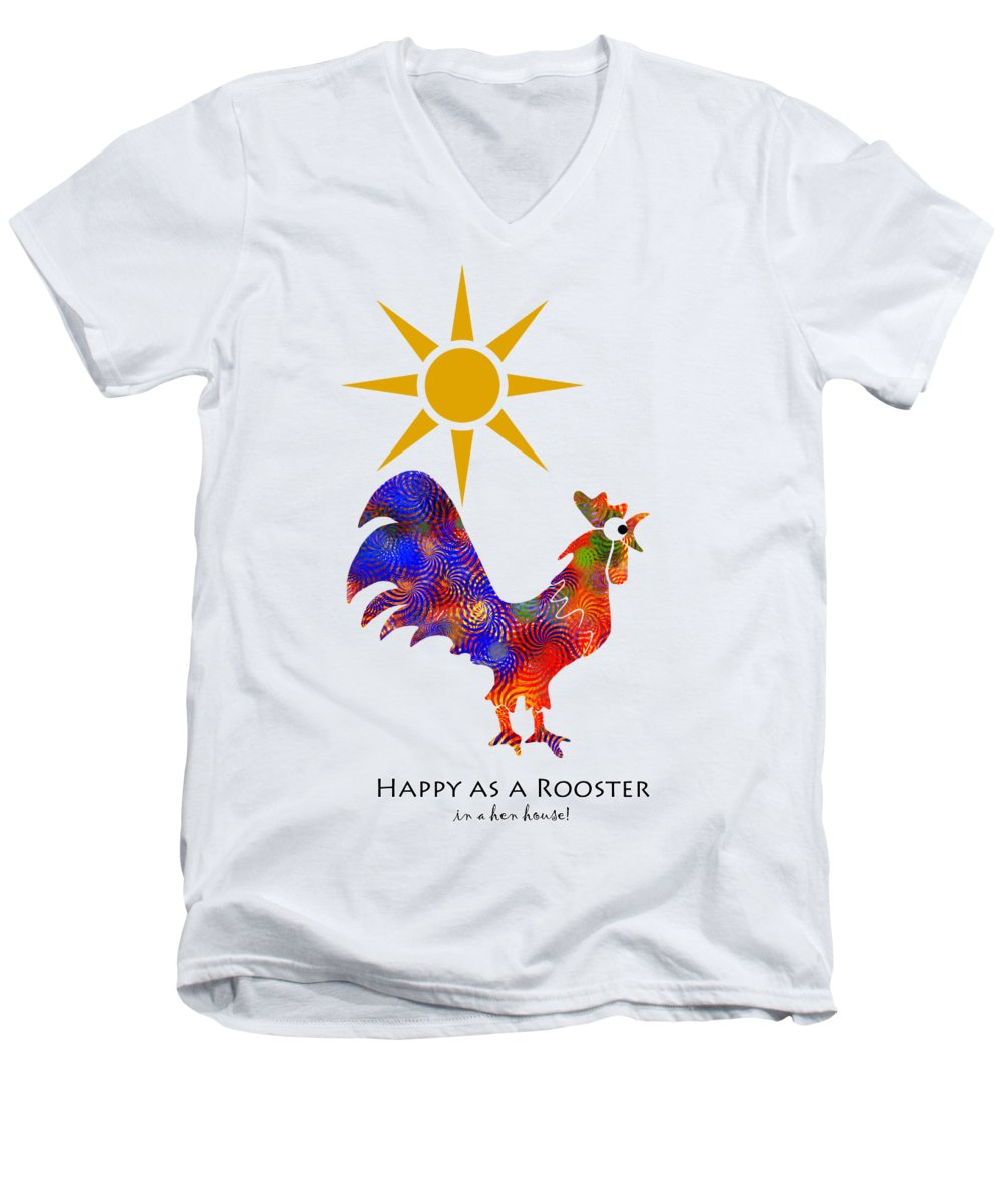 Chicken V-Neck T-Shirts