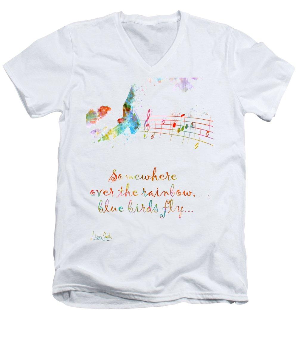 Wizard V-Neck T-Shirts