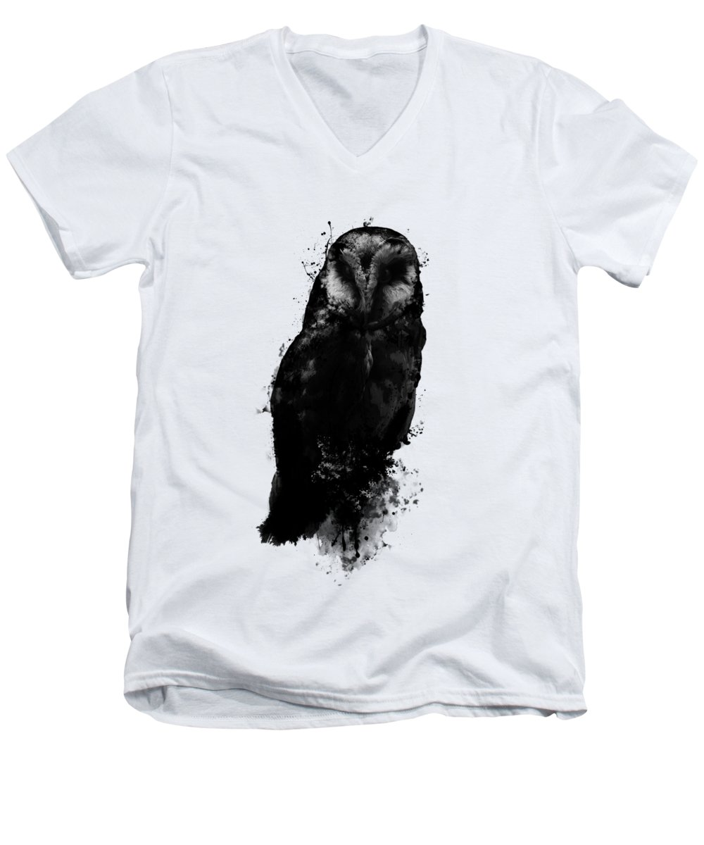 Owl V-Neck T-Shirts