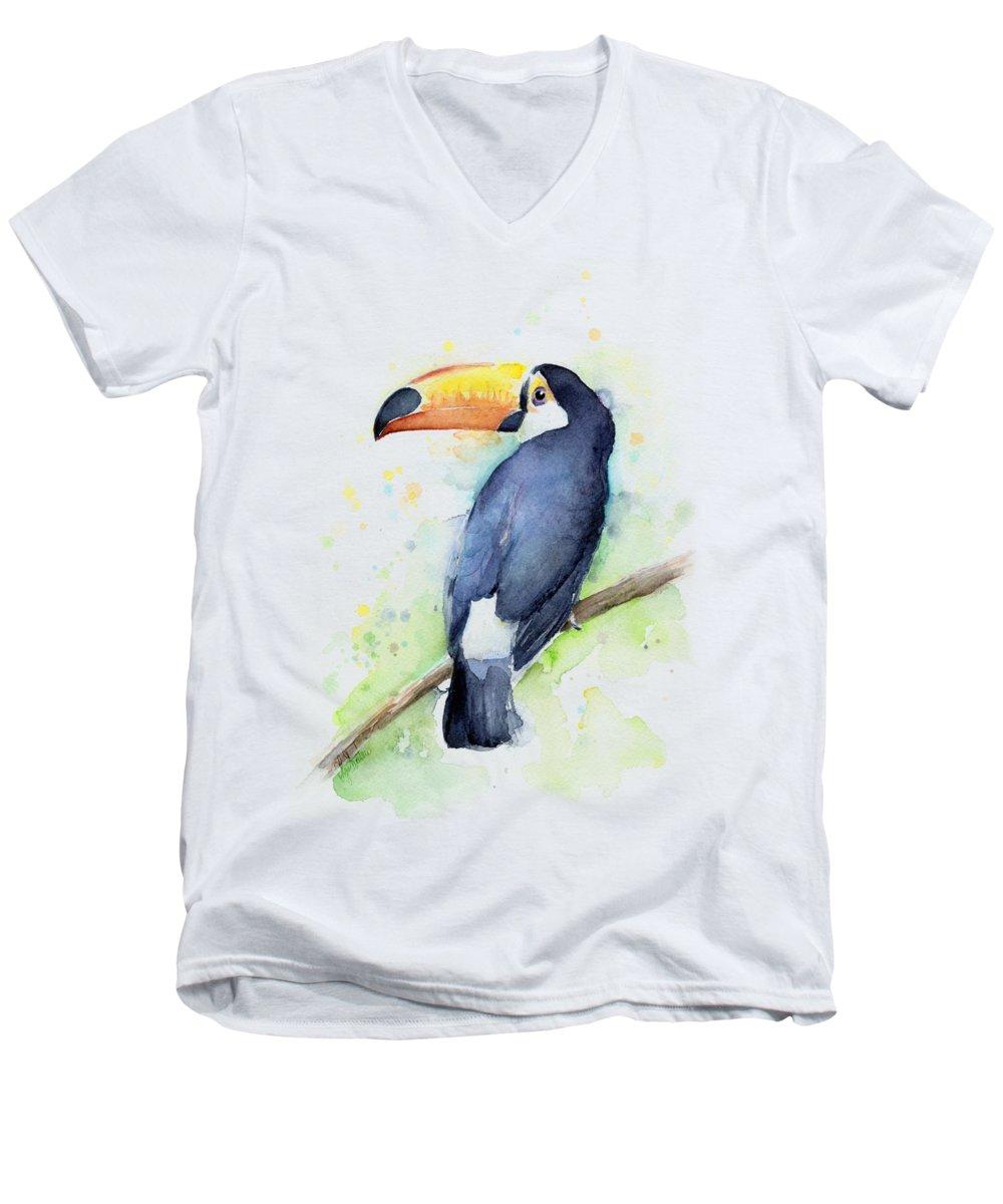 Toucan V-Neck T-Shirts