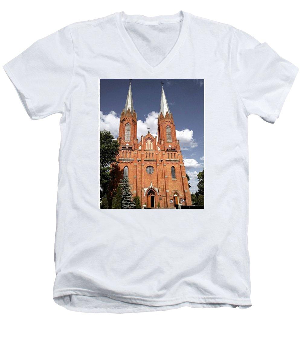 Architecture V-Neck T-Shirts
