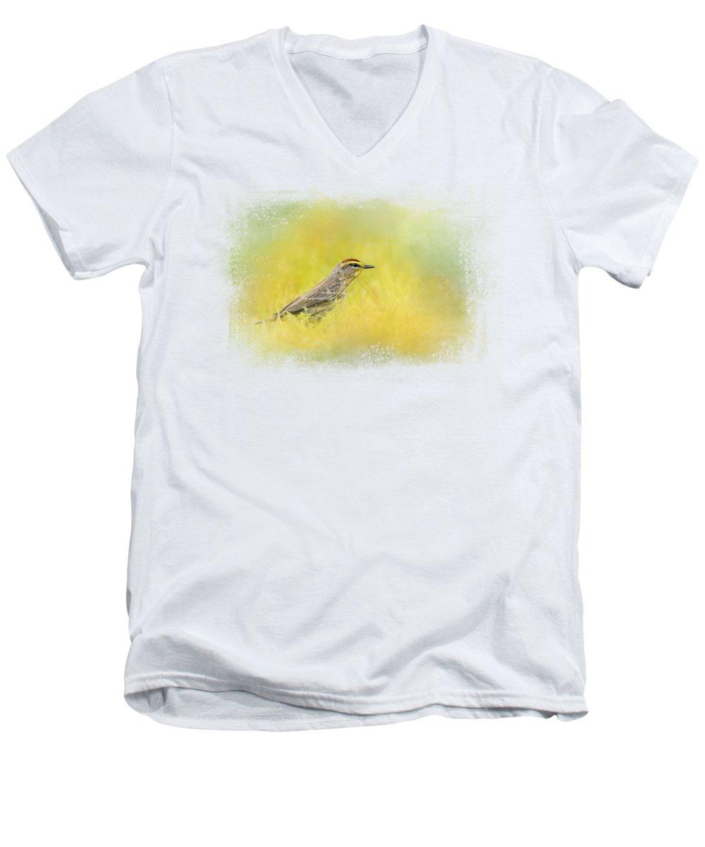 Warbler V-Neck T-Shirts