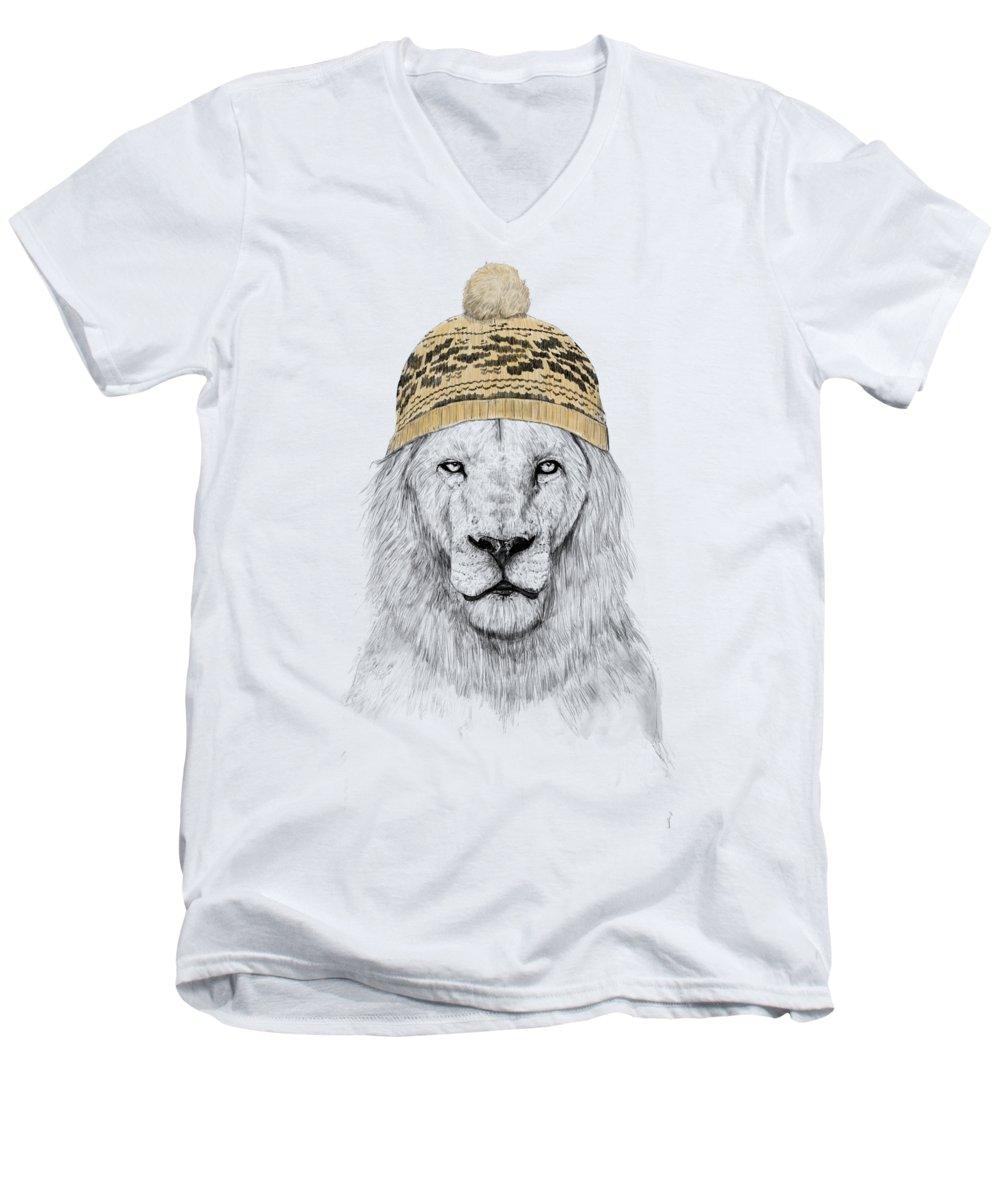 Winter V-Neck T-Shirts
