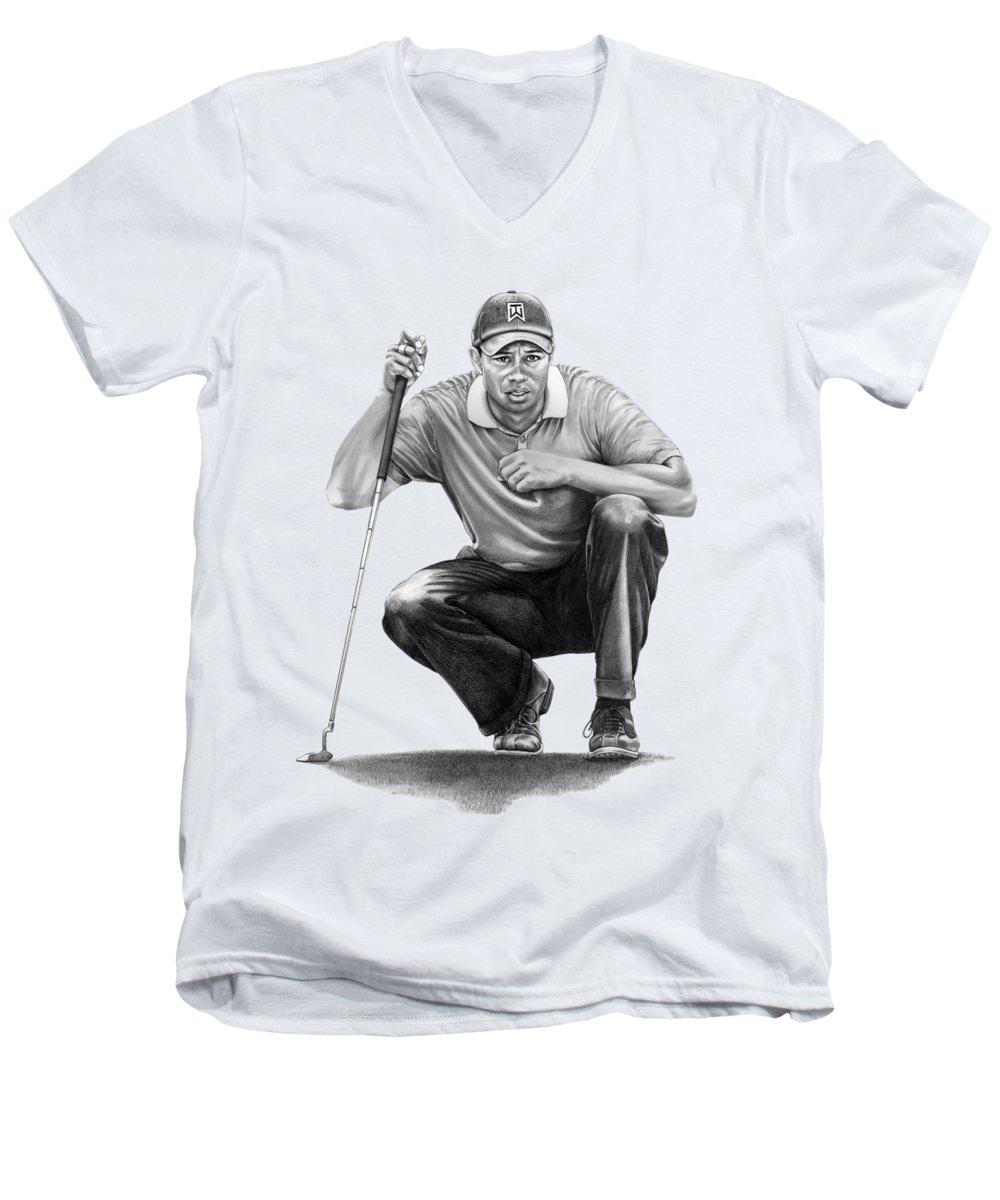 Sport Drawings V-Neck T-Shirts