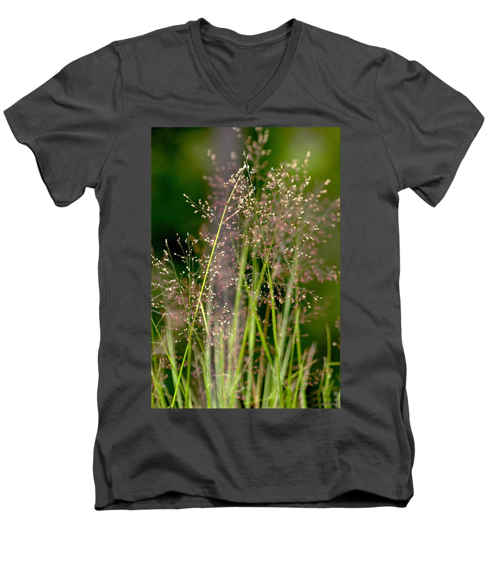 Floral Men's V-Neck T-Shirt featuring the photograph Memories Of Springtime by Holly Kempe