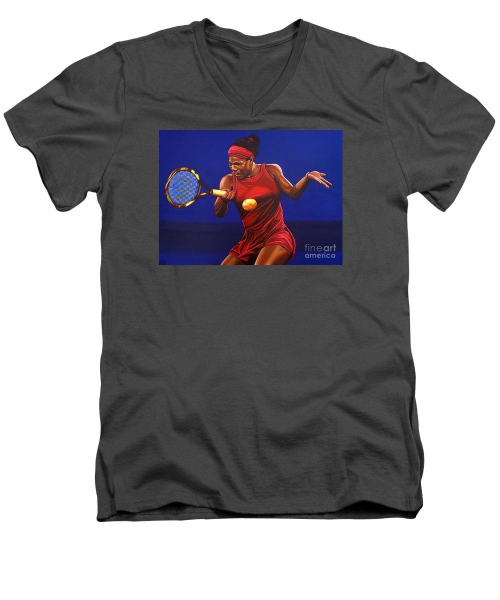 Serena Williams V-Neck T-Shirts