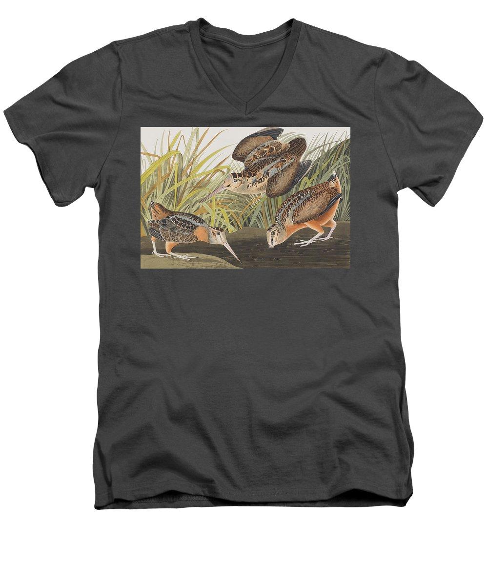 Woodcock V-Neck T-Shirts