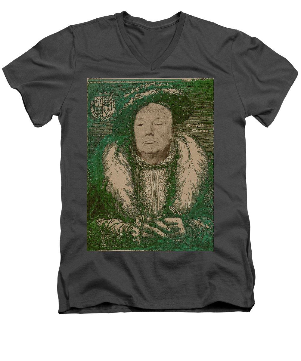 Portraits V-Neck T-Shirts