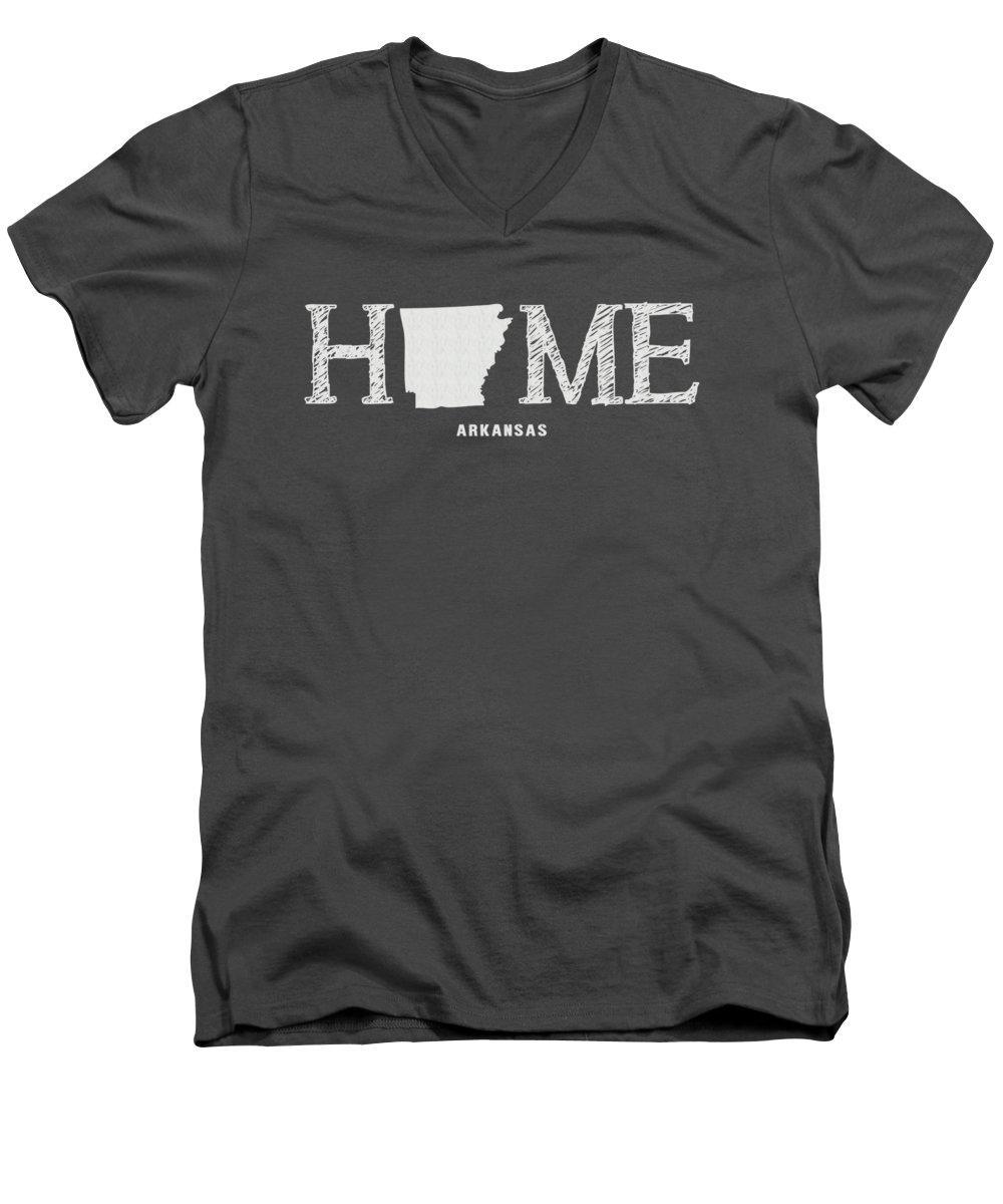 University Of Arkansas V-Neck T-Shirts