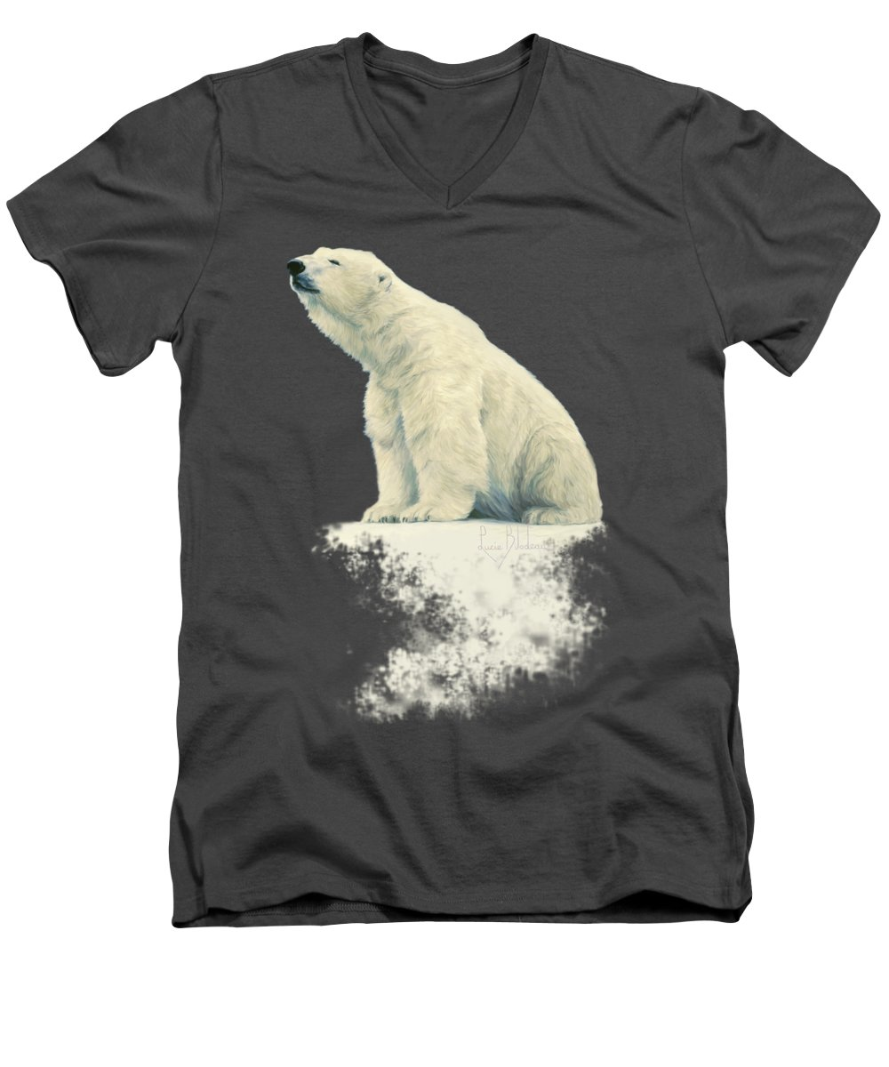 Bear V-Neck T-Shirts
