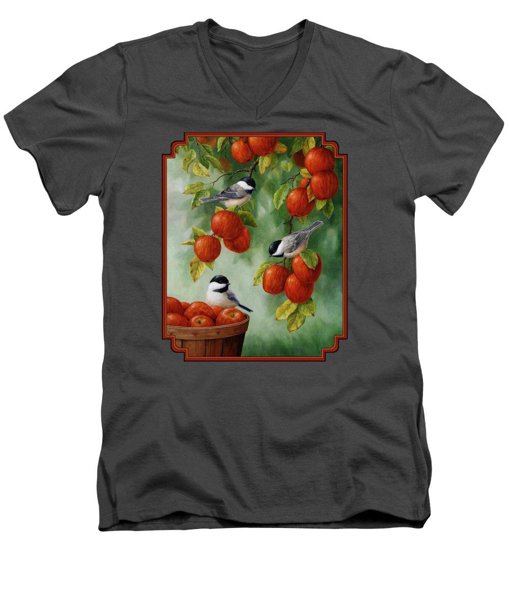 Apple V-Neck T-Shirts