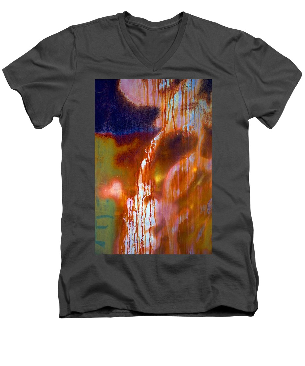 Skip Men's V-Neck T-Shirt featuring the photograph Cry Me A River by Skip Hunt