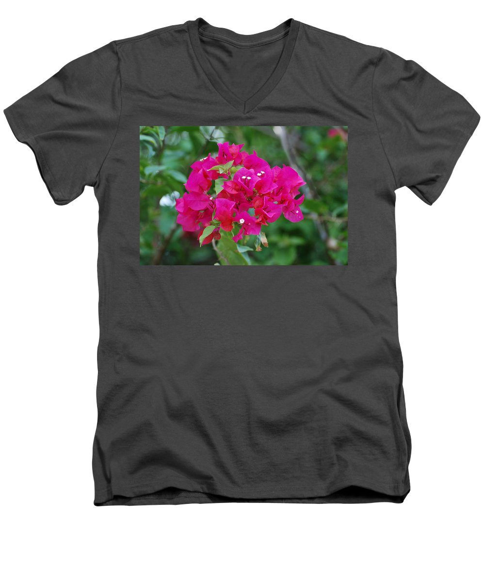 Flowers Men's V-Neck T-Shirt featuring the photograph Flowers by Rob Hans