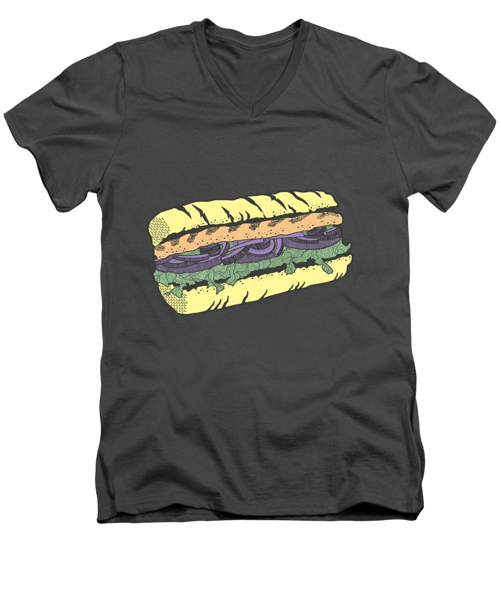 Food And Beverage V-Neck T-Shirts