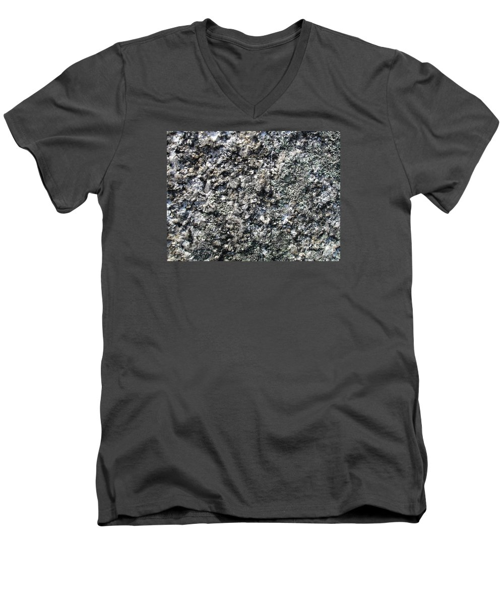 Granite Men's V-Neck T-Shirt featuring the photograph Granite Mountains by Chad Natti