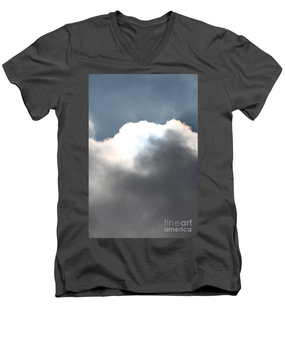 Hope Men's V-Neck T-Shirt featuring the photograph Hope by Nadine Rippelmeyer