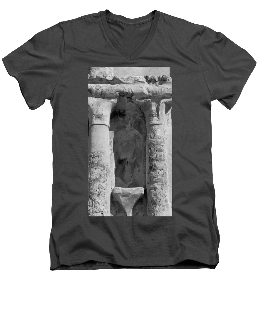 Niche Men's V-Neck T-Shirt featuring the photograph Niche by Kathy McClure