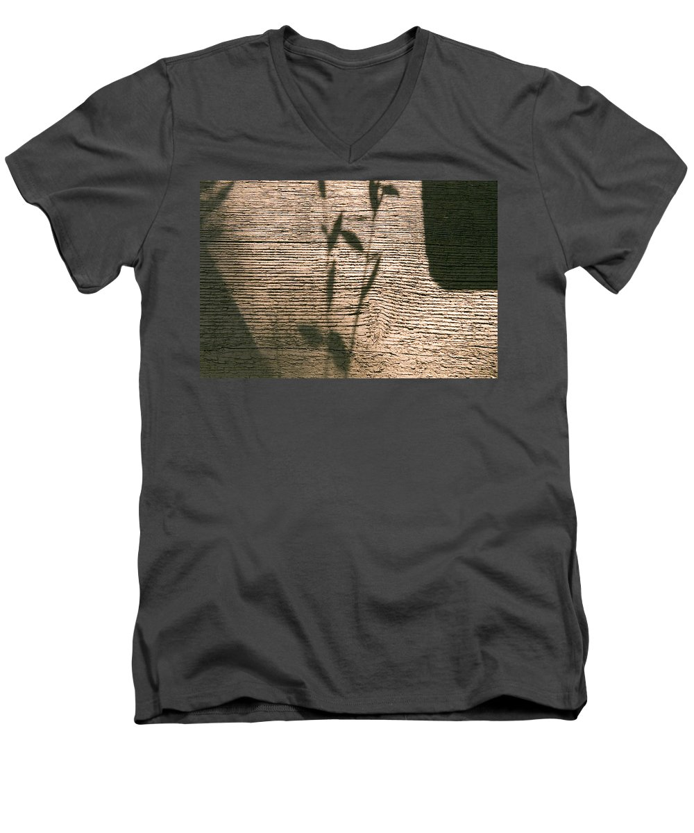 Men's V-Neck T-Shirt featuring the photograph Shadow by Clayton Bruster