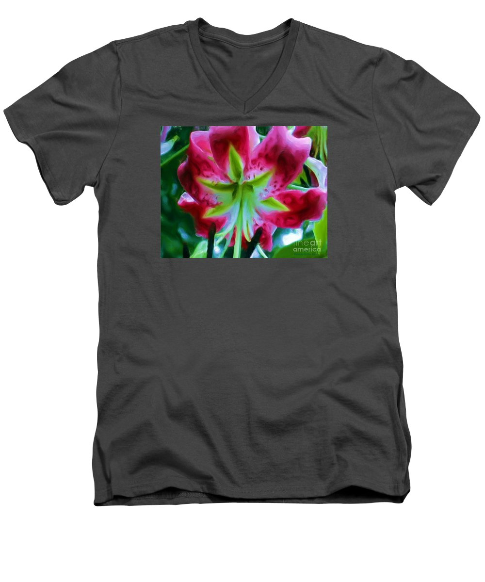 Fine Art Photography Men's V-Neck T-Shirt featuring the photograph Stargazer by Patricia Griffin Brett