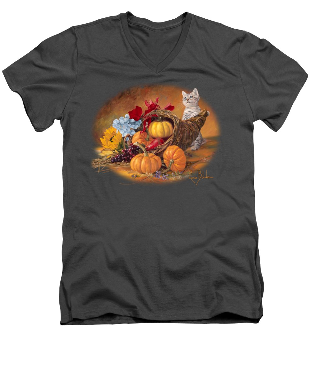 Sunflower V-Neck T-Shirts