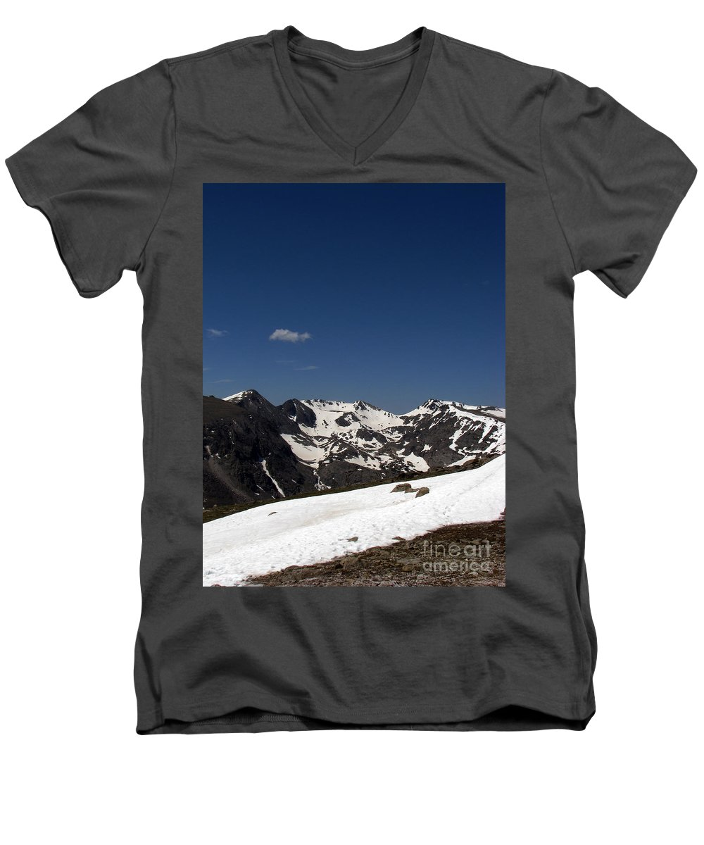 Colorado Men's V-Neck T-Shirt featuring the photograph Vast Mother by Amanda Barcon
