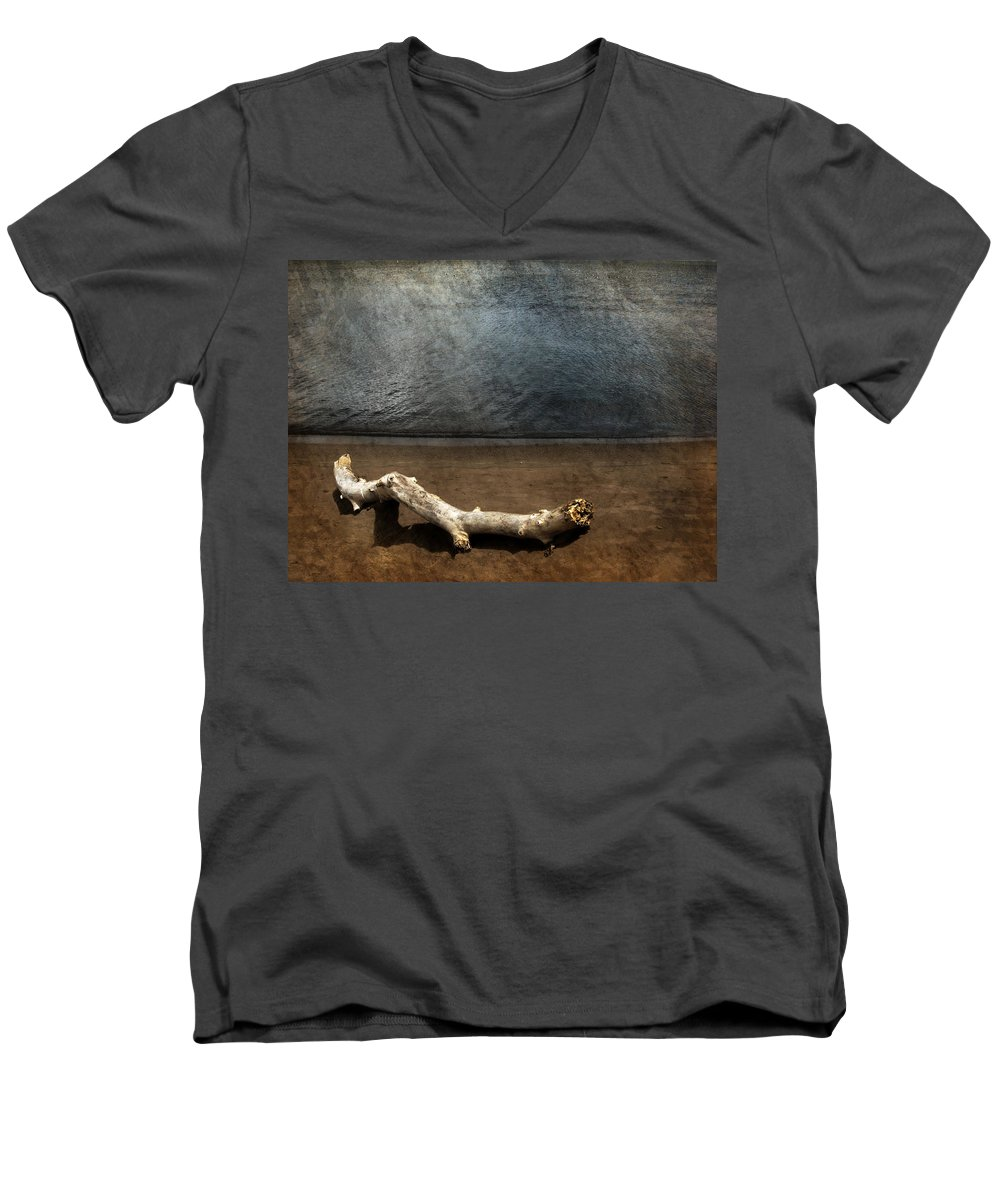 Ocean Men's V-Neck T-Shirt featuring the photograph Where No One Knows My Name by Dana DiPasquale