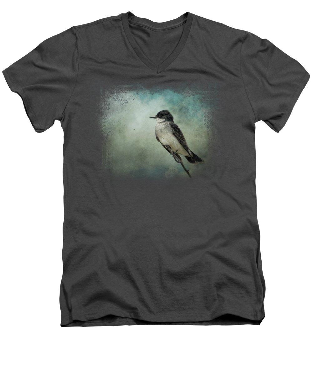 Flycatcher V-Neck T-Shirts