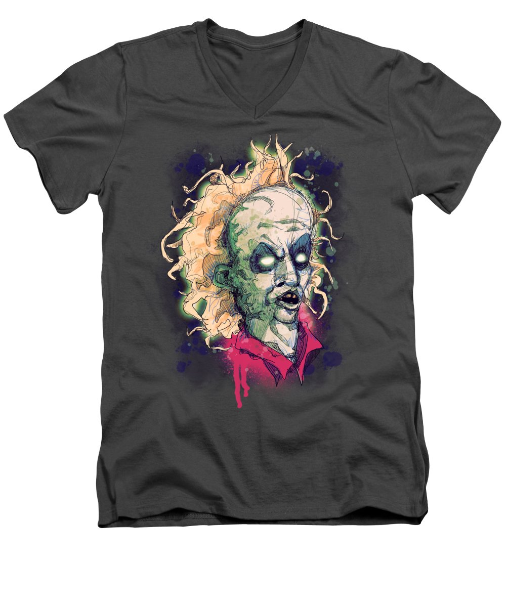 Gothic Drawings V-Neck T-Shirts