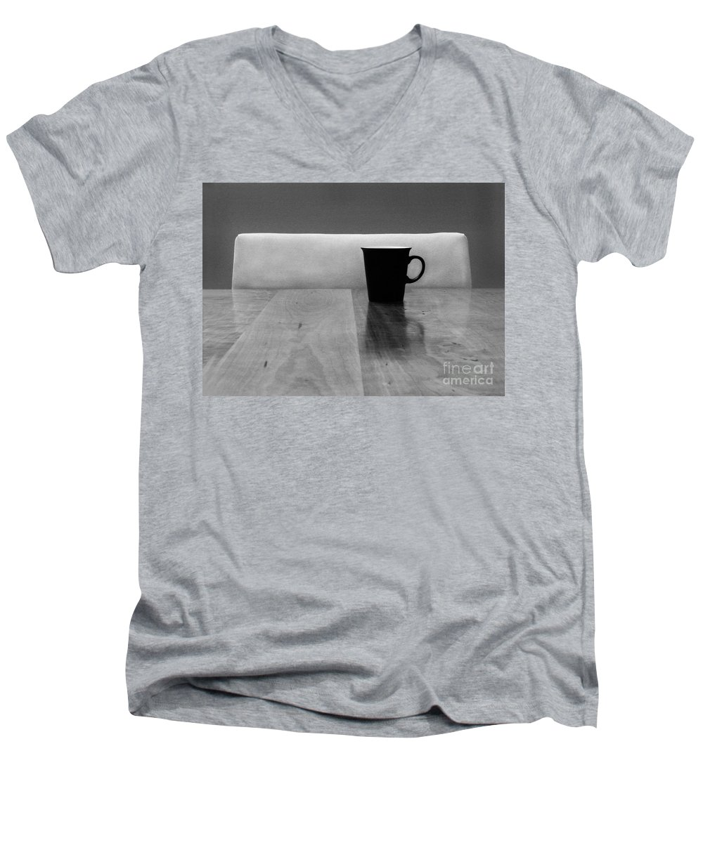 Black Men's V-Neck T-Shirt featuring the photograph Missing by Dana DiPasquale