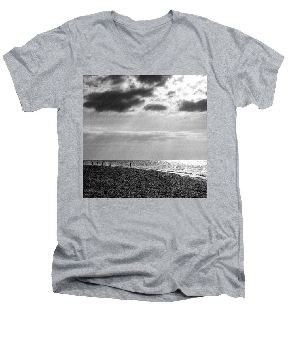 Sunset V-Neck T-Shirts