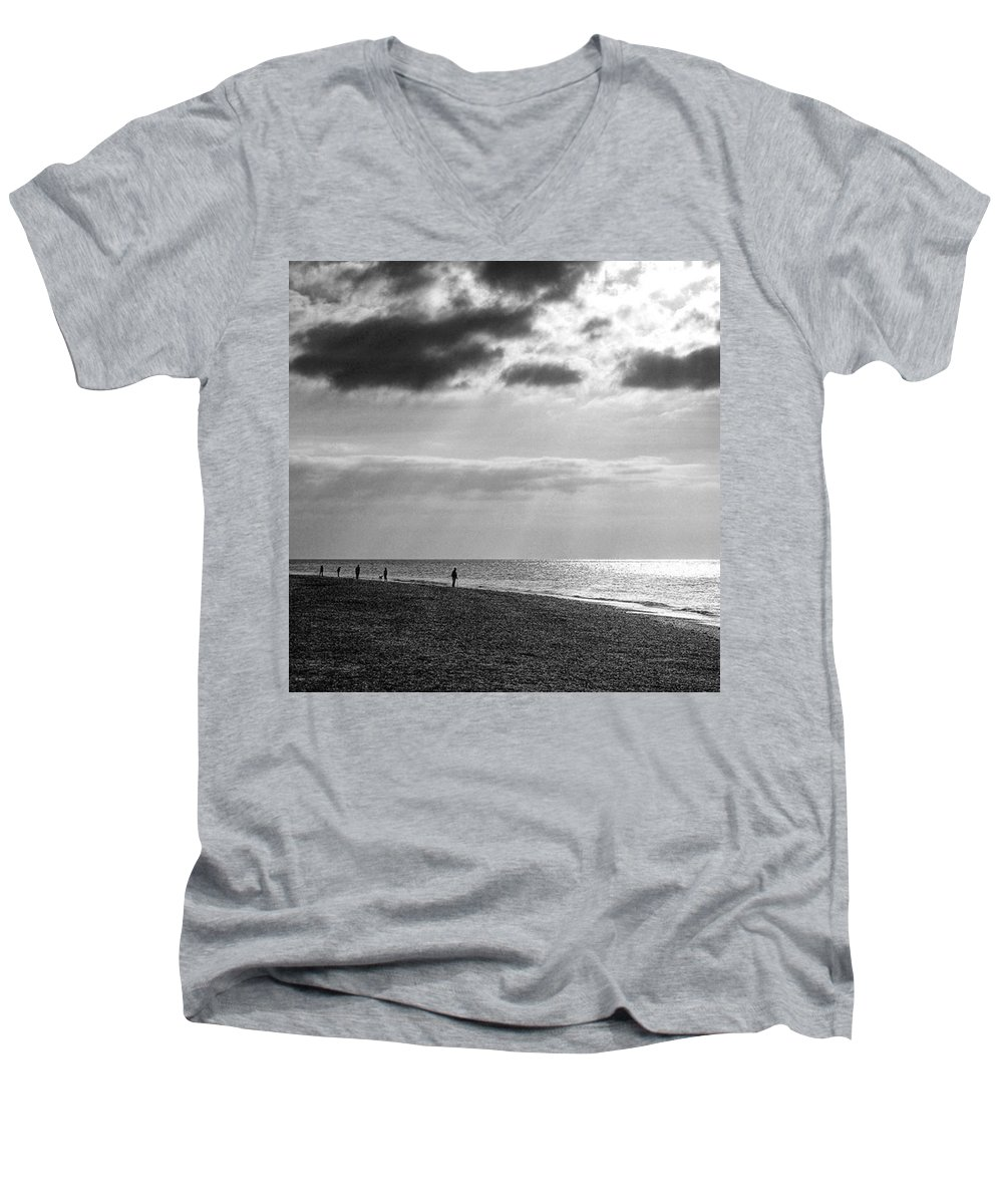 Sunset V-Neck T-Shirts