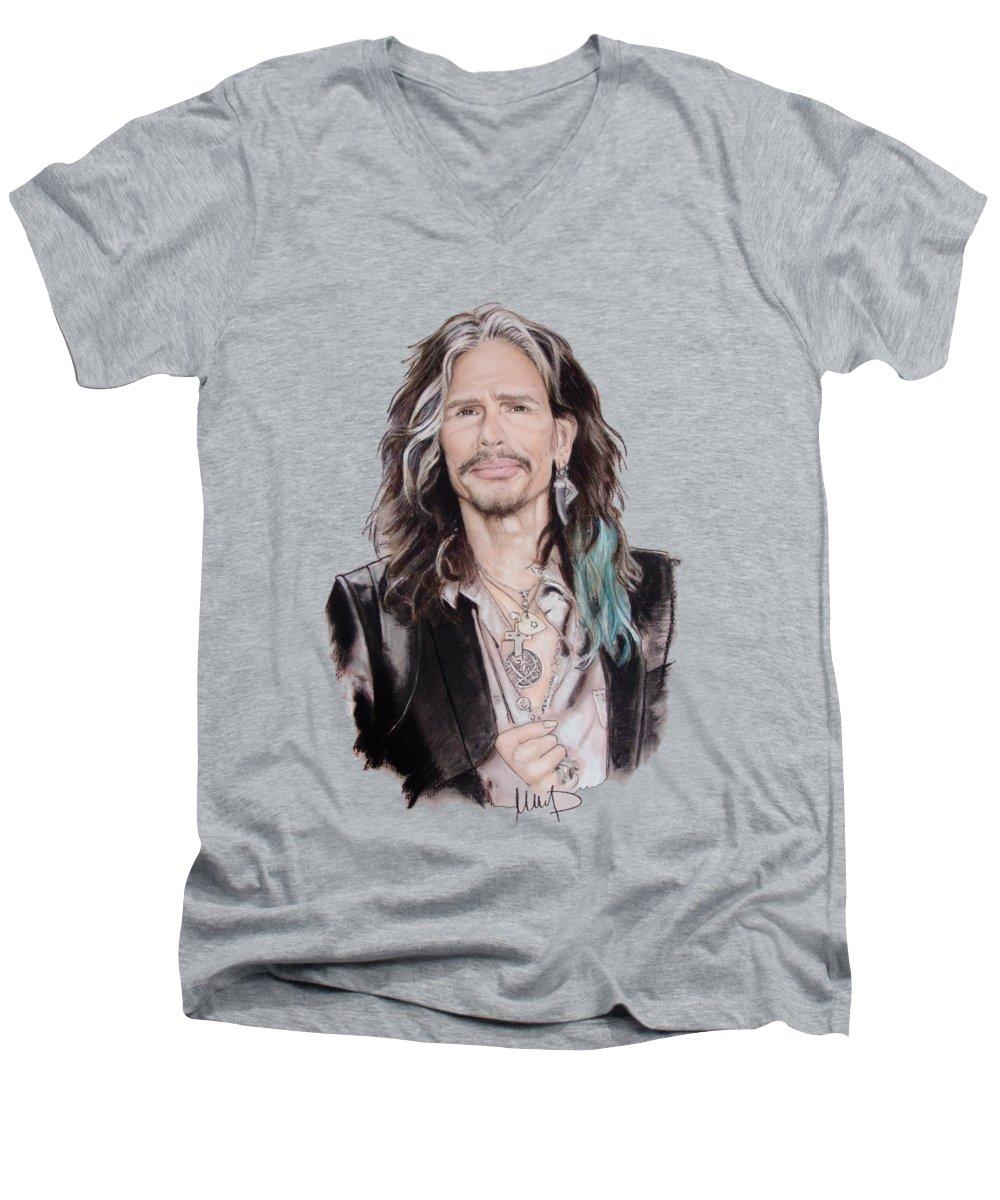 Steven Tyler V-Neck T-Shirts