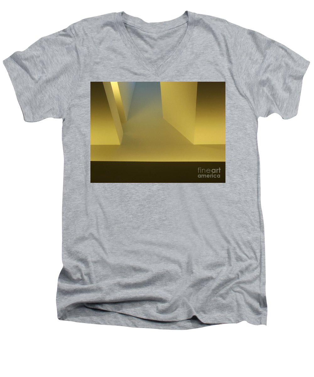 Yellow Men's V-Neck T-Shirt featuring the photograph Above Series 4.0 by Dana DiPasquale