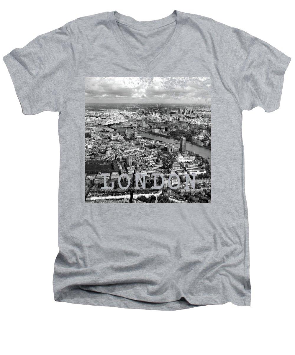 London Eye V-Neck T-Shirts