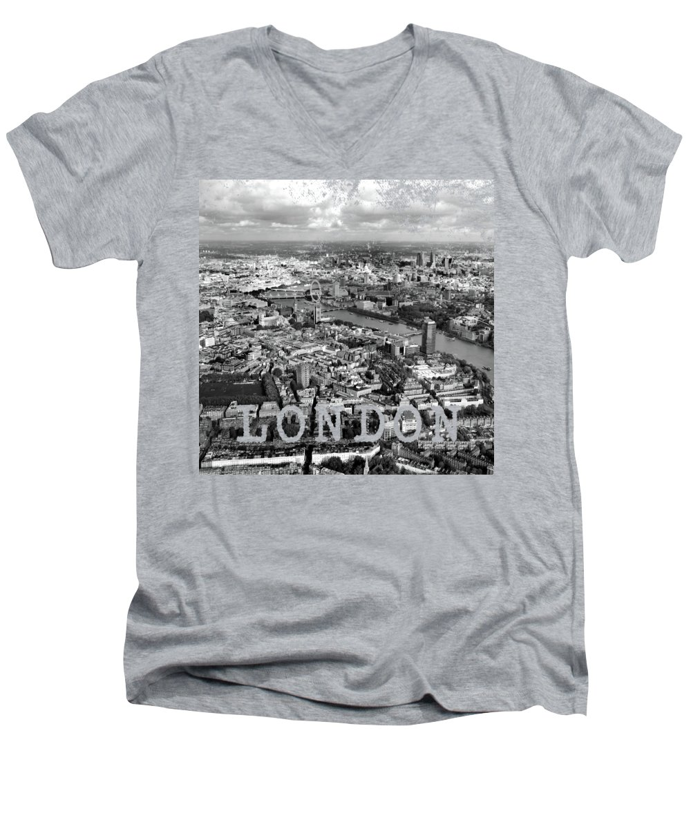 London Eye V-Neck T-Shirts