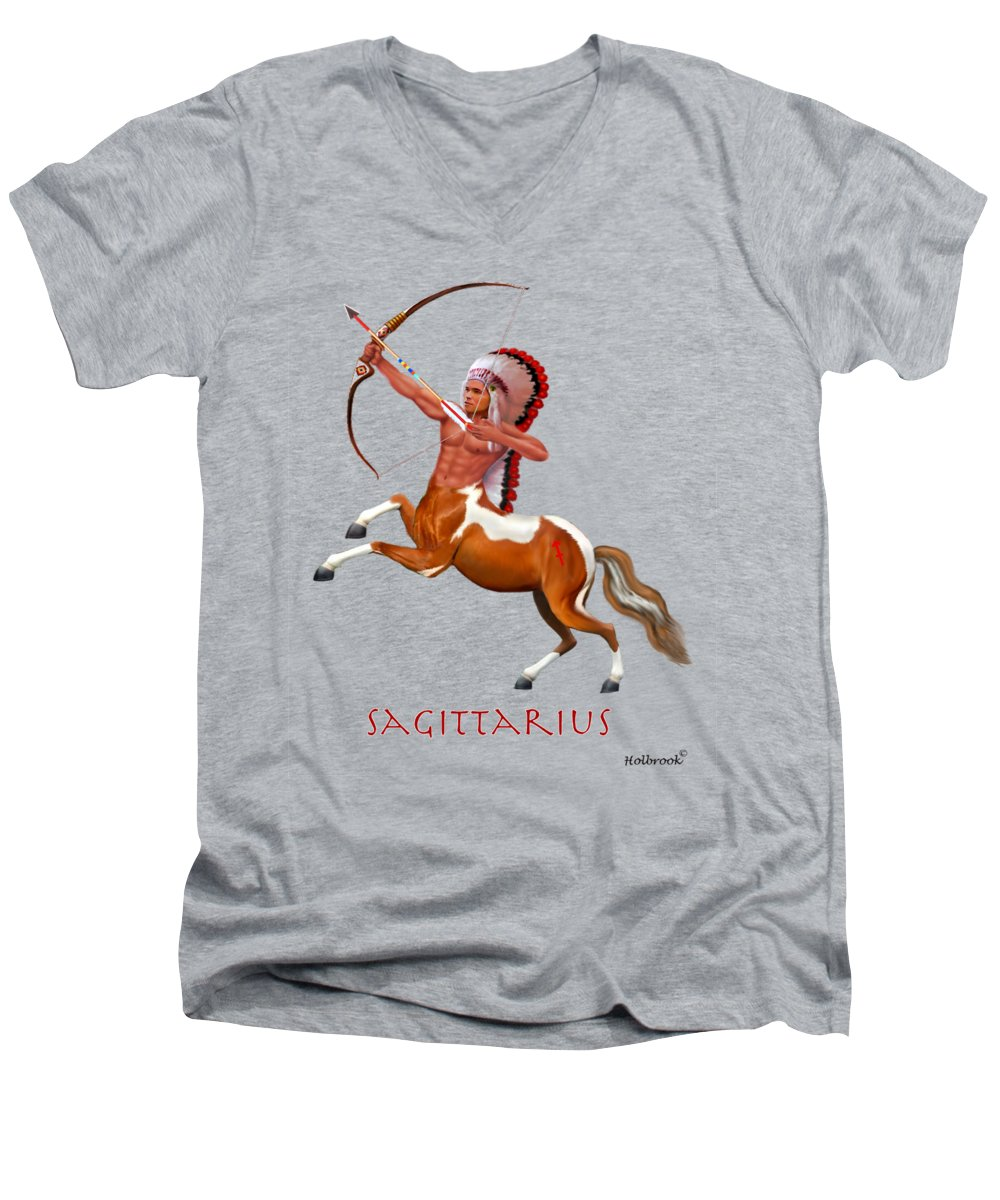 Centaur V-Neck T-Shirts