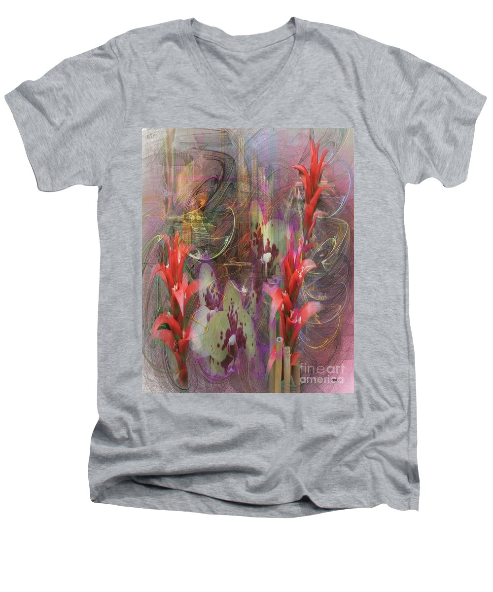 Chosen Ones Men's V-Neck T-Shirt featuring the digital art Chosen Ones by John Beck