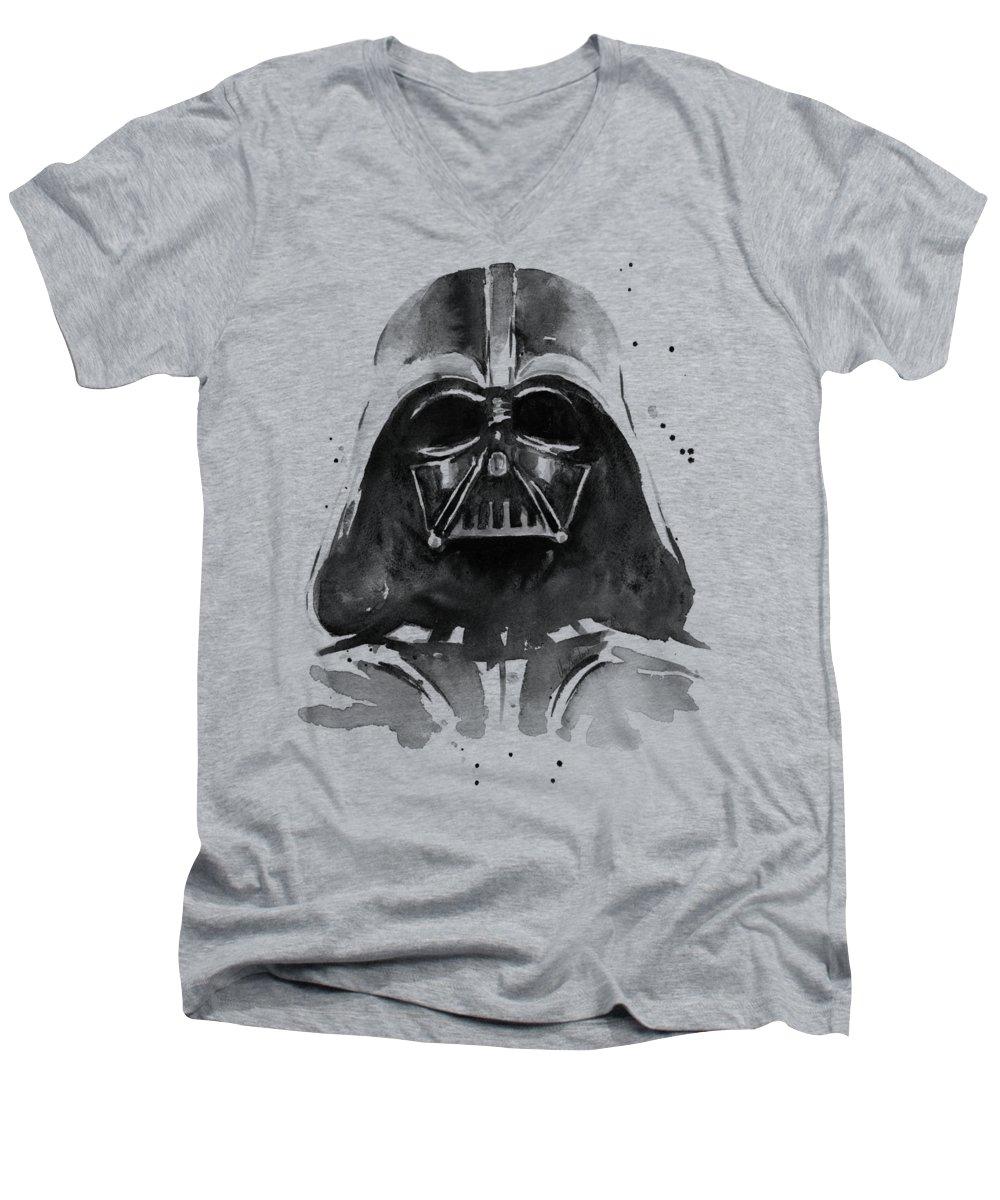 Black And White V-Neck T-Shirts
