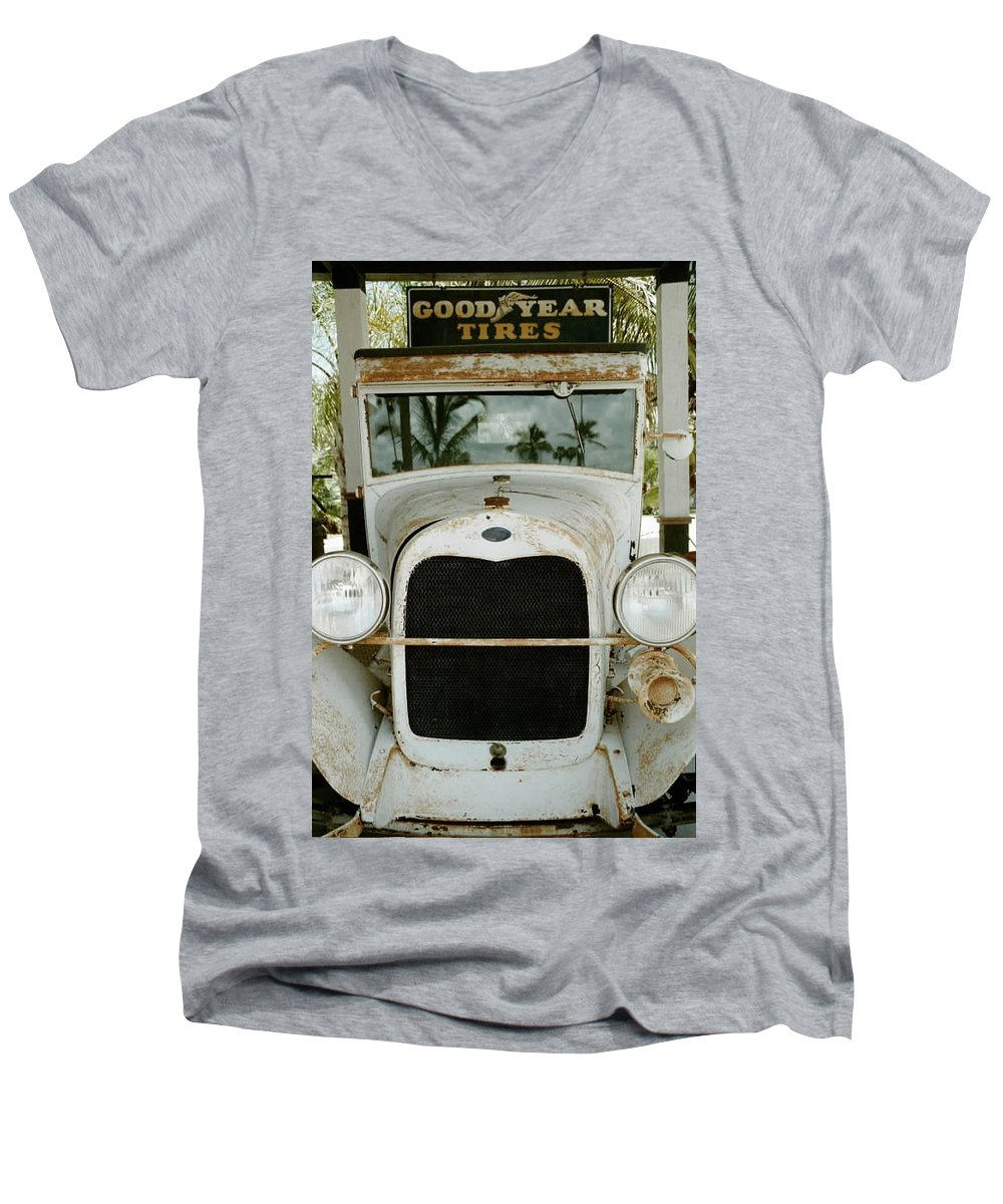 Everglade City Men's V-Neck T-Shirt featuring the photograph Everglade City IIi by Flavia Westerwelle
