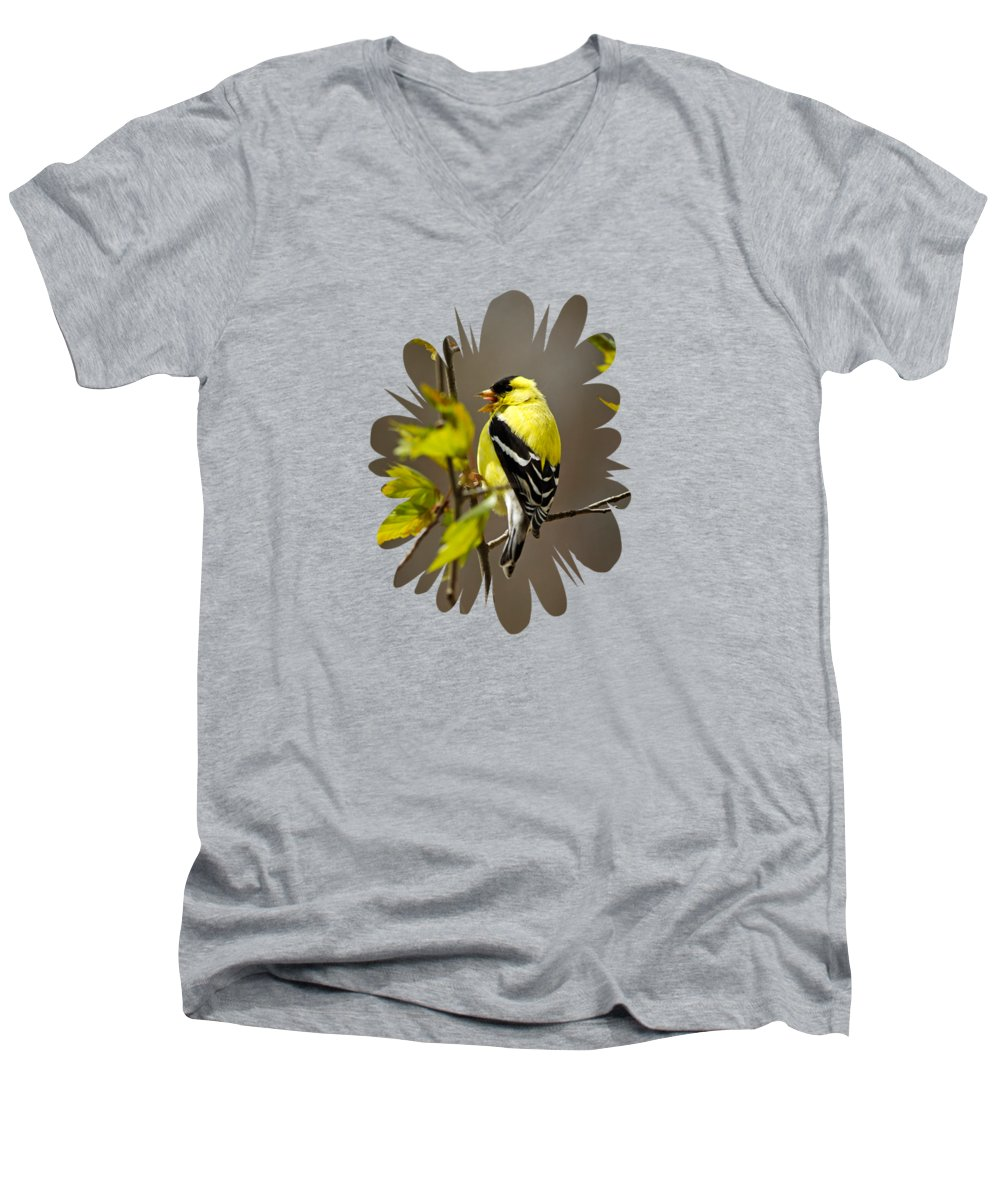 Canary V-Neck T-Shirts