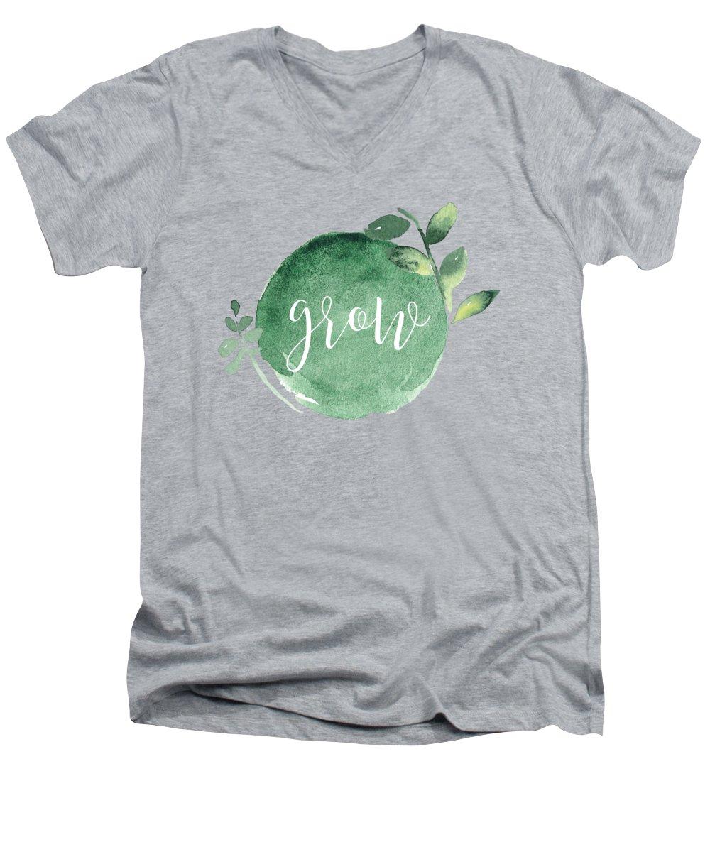Garden V-Neck T-Shirts