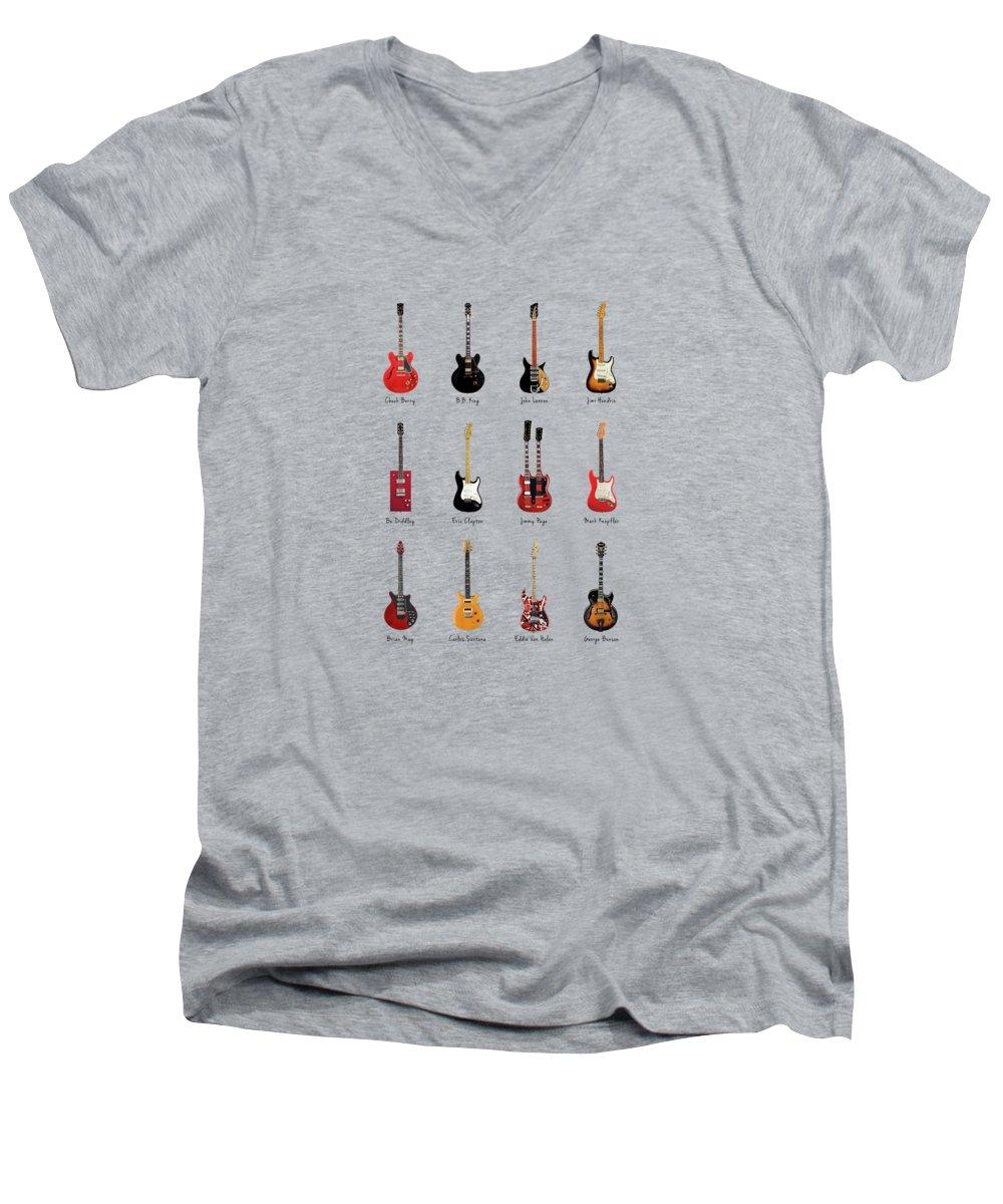 Jimmy Page V-Neck T-Shirts