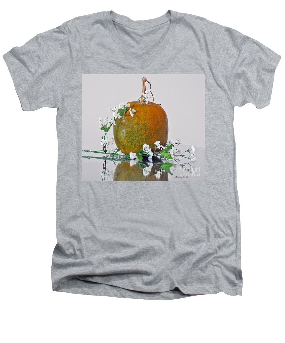 Photography Men's V-Neck T-Shirt featuring the photograph Harvest by Shelley Jones