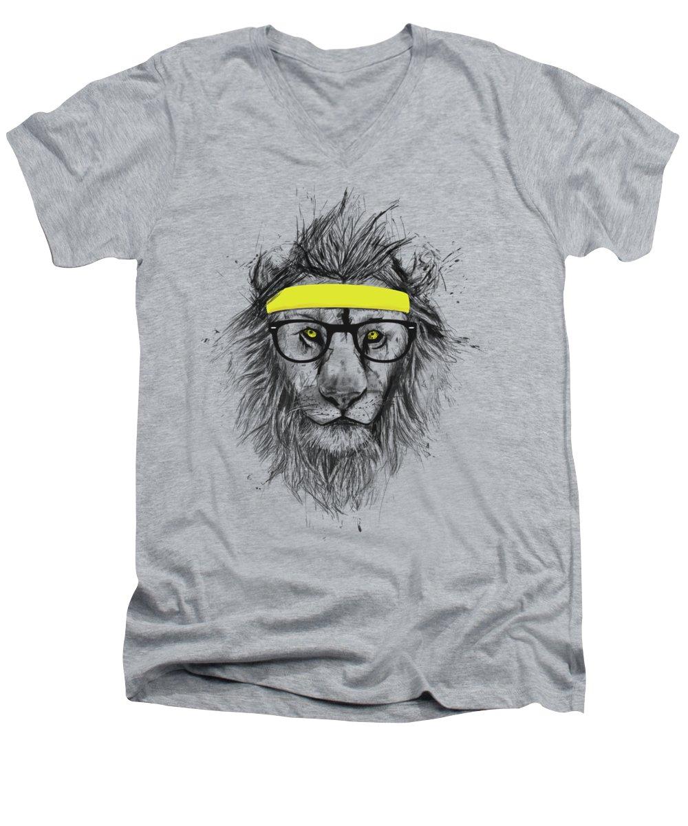 Funny Drawings V-Neck T-Shirts